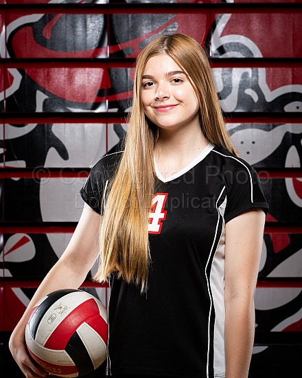 2018 Hanford High Volleyball