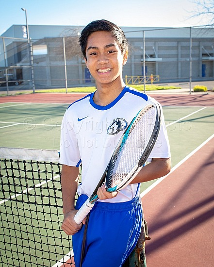 2019 Hanford West Boys Tennis